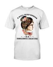 A well-read woman Classic T-Shirt thumbnail