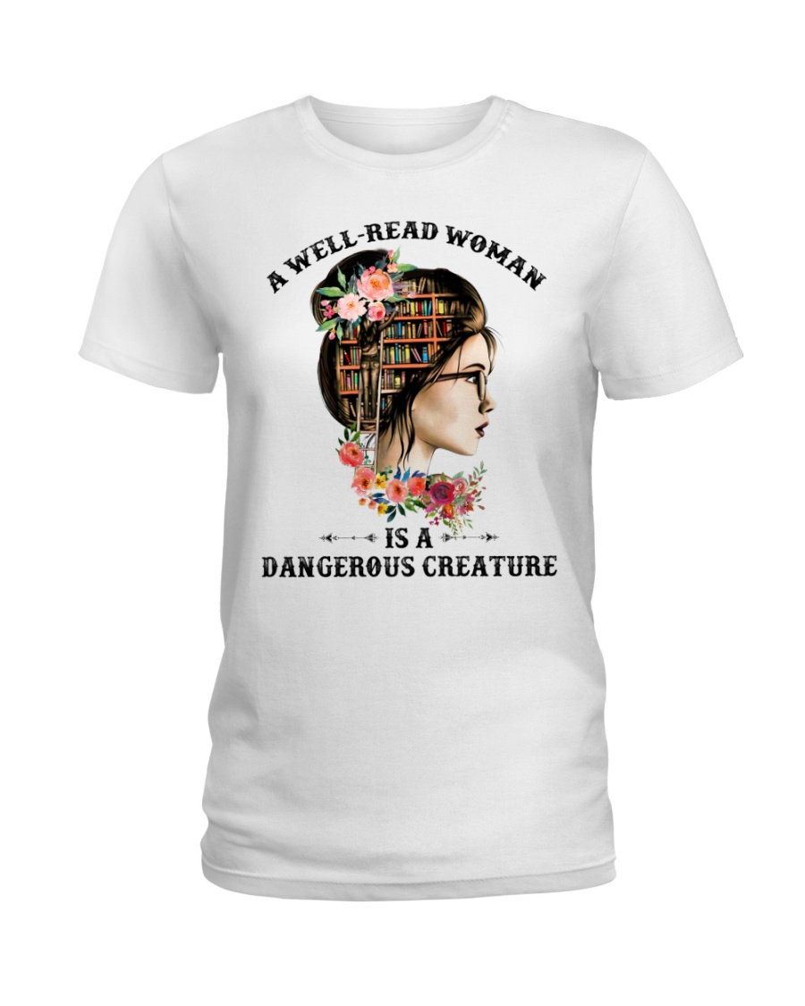 A well-read woman Ladies T-Shirt