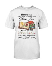 Book smell Classic T-Shirt thumbnail