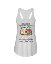 Book smell Ladies Flowy Tank thumbnail
