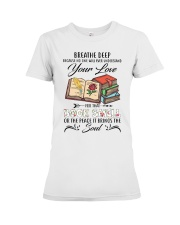 Book smell Premium Fit Ladies Tee thumbnail