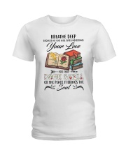 Book smell Ladies T-Shirt front