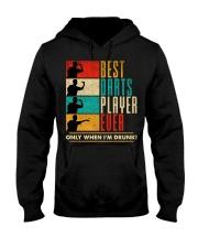 Best darts player Hooded Sweatshirt thumbnail
