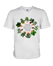 Be like a tree V-Neck T-Shirt thumbnail