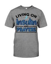 Insulin and prayer Premium Fit Mens Tee thumbnail