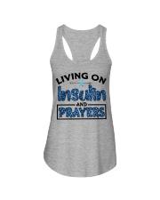 Insulin and prayer Ladies Flowy Tank thumbnail
