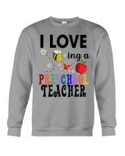 I love being a Preschool teacher Crewneck Sweatshirt thumbnail
