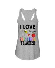 I love being a Preschool teacher Ladies Flowy Tank thumbnail