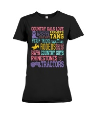 Country gals Premium Fit Ladies Tee thumbnail