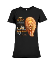 Like a Lion Premium Fit Ladies Tee thumbnail