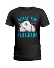 Dentist fulcrum Ladies T-Shirt thumbnail