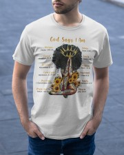 God says Classic T-Shirt apparel-classic-tshirt-lifestyle-front-46