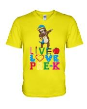 Live love Pre K V-Neck T-Shirt thumbnail