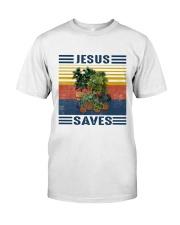 Jesus saves Premium Fit Mens Tee thumbnail