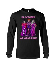 In october we wear pink Long Sleeve Tee thumbnail
