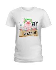 Vegan af Ladies T-Shirt front