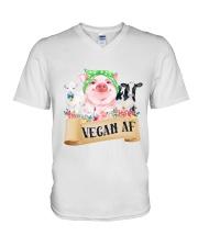 Vegan af V-Neck T-Shirt thumbnail