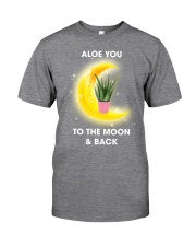 Aloe you to the moon and back Classic T-Shirt thumbnail