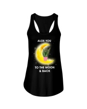 Aloe you to the moon and back Ladies Flowy Tank thumbnail