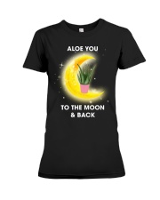Aloe you to the moon and back Premium Fit Ladies Tee thumbnail