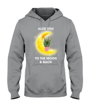 Aloe you to the moon and back Hooded Sweatshirt thumbnail