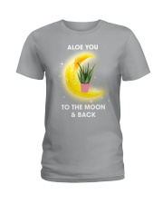 Aloe you to the moon and back Ladies T-Shirt tile