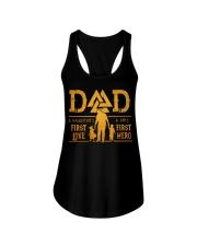 Dad Ladies Flowy Tank thumbnail