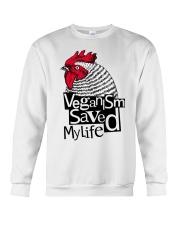 Veganism saved my life Crewneck Sweatshirt thumbnail