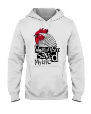 Veganism saved my life Hooded Sweatshirt thumbnail