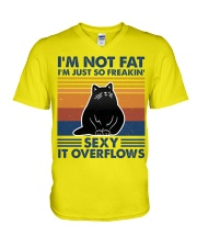 Im not fat V-Neck T-Shirt thumbnail
