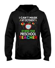 Teacher preschool Hooded Sweatshirt thumbnail