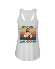 Only god can jugde me Ladies Flowy Tank thumbnail
