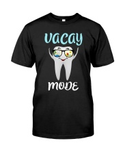 Teeth vacay mode Classic T-Shirt front