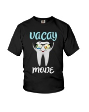 Teeth vacay mode Youth T-Shirt tile
