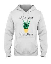 Aloe vera Hooded Sweatshirt thumbnail