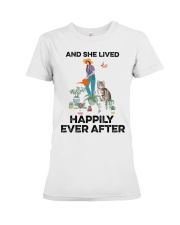 And she lived happily ever after Premium Fit Ladies Tee thumbnail