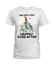 And she lived happily ever after Ladies T-Shirt front