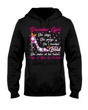 December girl Hooded Sweatshirt thumbnail