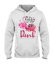 We wear pink Hooded Sweatshirt thumbnail