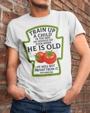 Train up a child Classic T-Shirt apparel-classic-tshirt-lifestyle-26