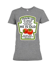Train up a child Premium Fit Ladies Tee thumbnail