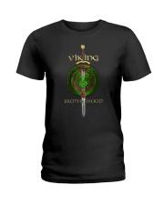 Viking brotherhood Ladies T-Shirt thumbnail