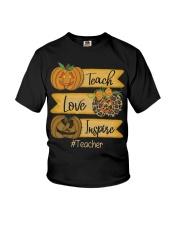 Teach love inspire Youth T-Shirt thumbnail