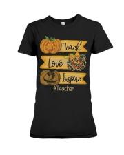 Teach love inspire Premium Fit Ladies Tee thumbnail