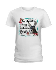 Eat the rose Ladies T-Shirt front