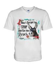 Eat the rose V-Neck T-Shirt thumbnail