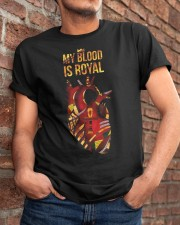 My blood is royal Classic T-Shirt apparel-classic-tshirt-lifestyle-26