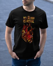 My blood is royal Classic T-Shirt apparel-classic-tshirt-lifestyle-front-46