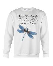 May you tough dragonflies and stars Crewneck Sweatshirt thumbnail