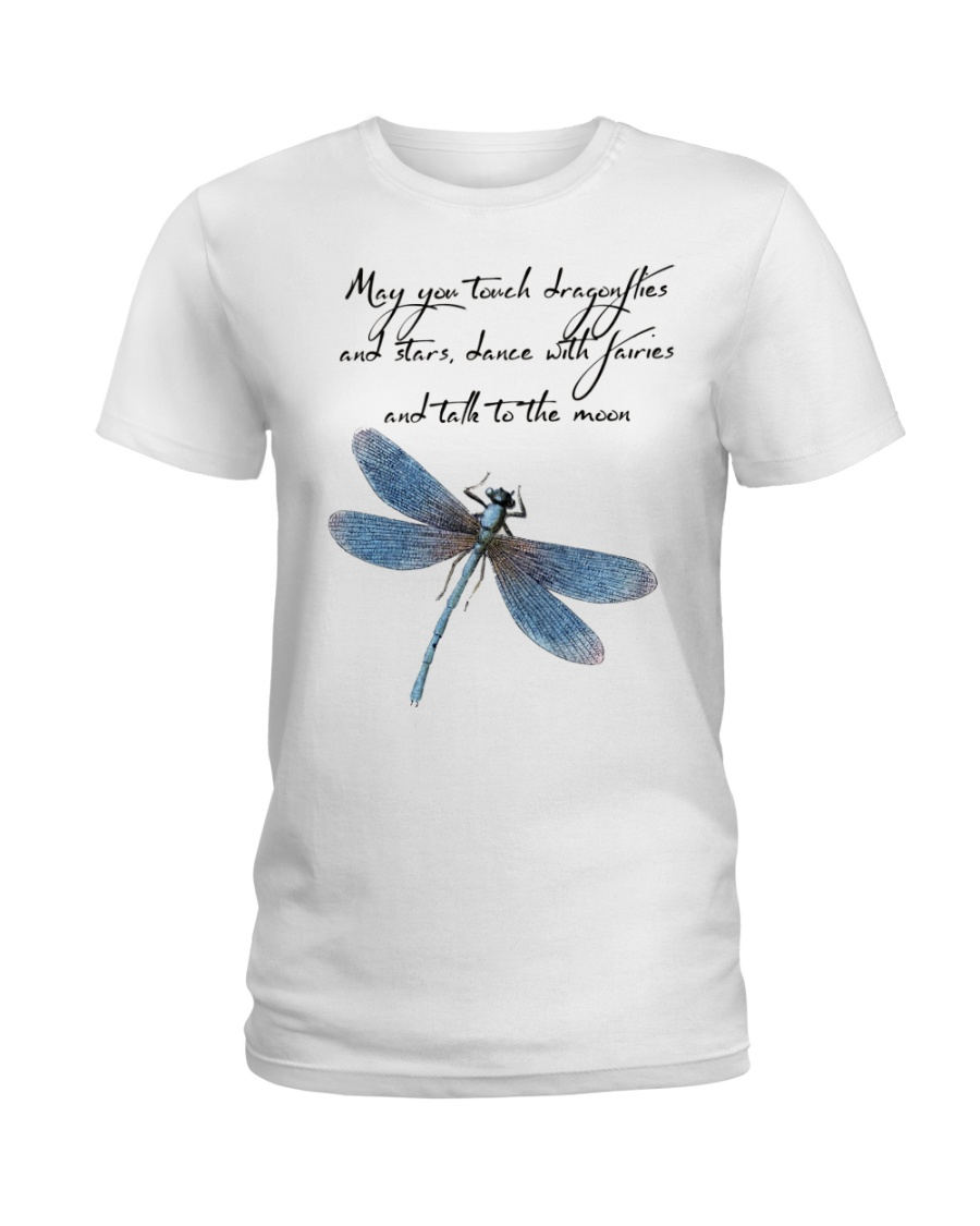 May you tough dragonflies and stars Ladies T-Shirt